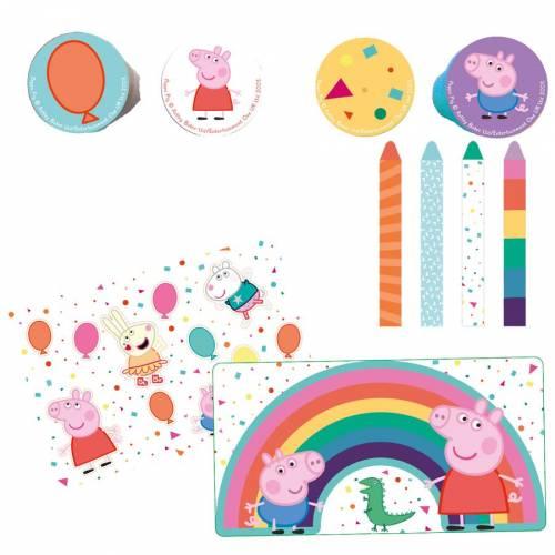 Set Cadeaux Papeterie - Peppa Pig Party