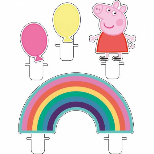 4 Bougies - Peppa Pig Party