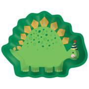 8 Petites Assiettes - Happy Dino Party