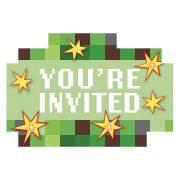 8 Invitations TNT Party !