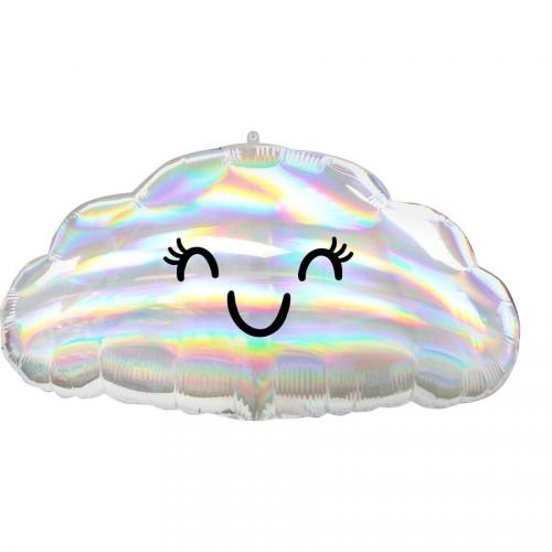 Ballon Géant Nuage Iridescent