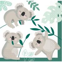 Contient : 1 x 16 Serviettes Koala