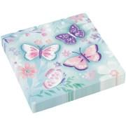 16 Serviettes Papillon Vintage