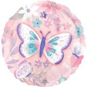 Ballon à plat Papillon Vintage