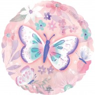 Ballon Hélium Papillon Vintage