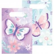 8 Pochettes Cadeaux Papillon Vintage
