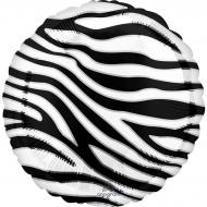 Ballon Hélium Zèbre - Ø43 cm