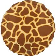 Ballon à plat Girafe - Ø43 cm