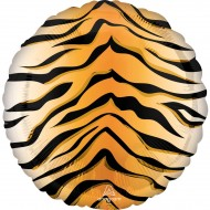 Ballon Hélium Tigre - Ø43 cm