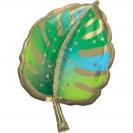 Ballon Géant Feuille Tropicale - 76 cm