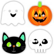 8 Masques Hallowen Friends