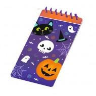 4 Carnets (10 cm) Halloween Spooky