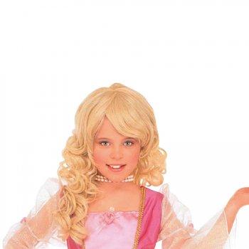 Perruque Princesse Barbara (Enfant)