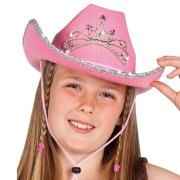 Chapeau Cow-Girl rose
