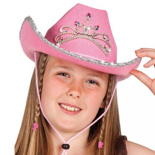 Chapeau Cow-Girl rose
