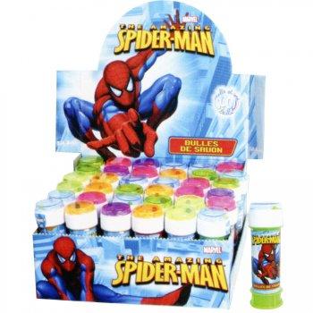 Bulles de Savon Spiderman avec jeu de patience