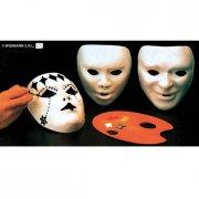 Lot de 12 masques à peindre