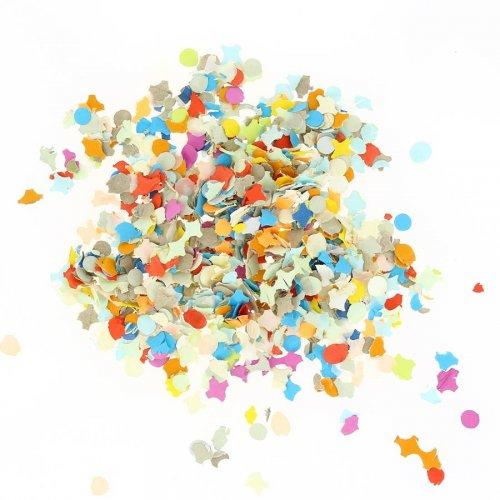 Confettis Multicolores (100 g) - Papier