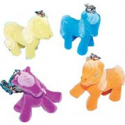 2 Porte-cl�s Poney Couleurs