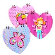 1 Carnet Coeur