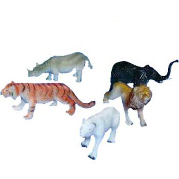 5 Figurines Animaux Sauvages