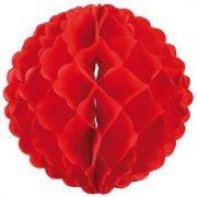 Boule Papier 3D Rouge