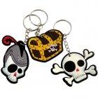12 Porte-clés Pirate