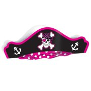 Chapeau en carton Pirate Girl