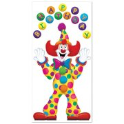 Affiche Clown Happy Birthday