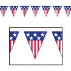 Guirlande Fanions American Party