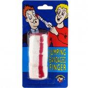 Farce et attrape Bandage de doigt sauteur