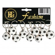 12 Porte-clés Ballon Foot