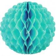 Boule Papier 3D Turquoise