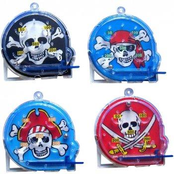 4 Mini Flippers Pirate