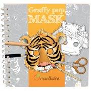 Livre 35 Masques Animaux à colorier