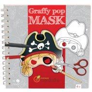 Livre 35 Masques Garçon à colorier