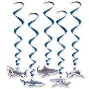 5 Guirlandes Spirales Requins