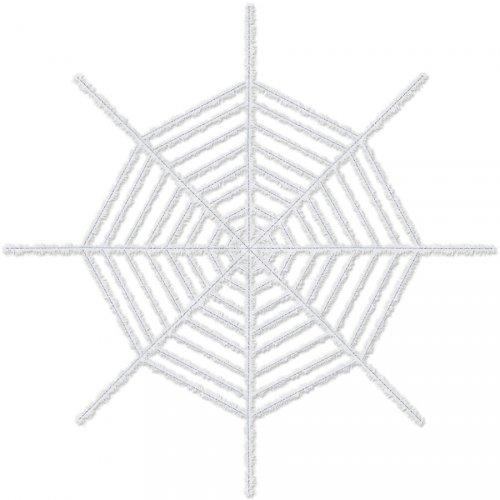 Toile d Araignée Géante Blanc/Violet (1,83 m)