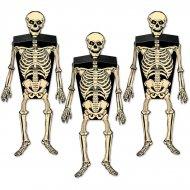 3 Boîtes Cadeaux Squelette