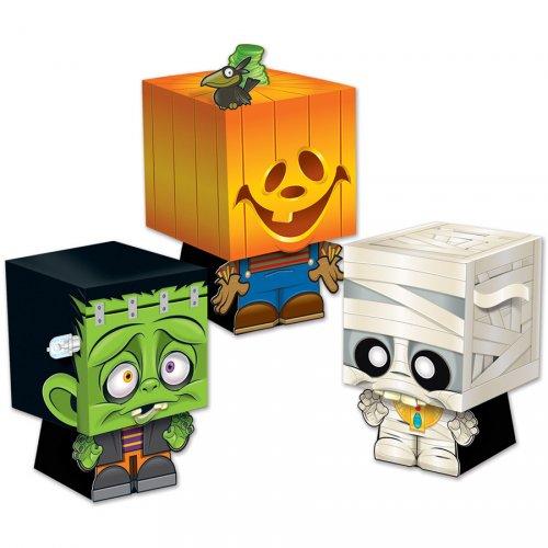 3 Boîte Cadeaux Halloween