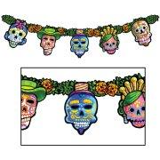 Guirlande Jour des Morts Mexique