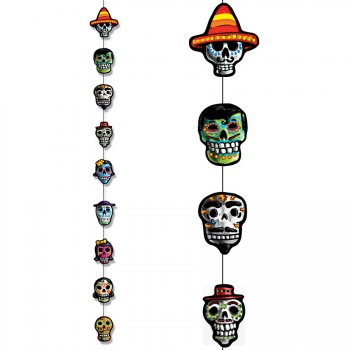 Décoration à suspendre Jour des Morts Mexique