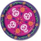 8 Assiettes Jour des Morts Mexique