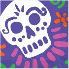 16 Serviettes Jour des Morts Mexique