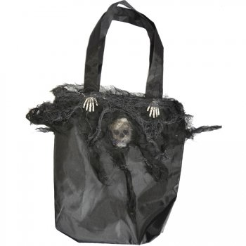 Sac cabas Halloween Noir