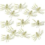 12 Araignées Phosphorescentes