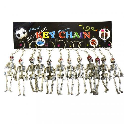2 Porte-clés Squelette