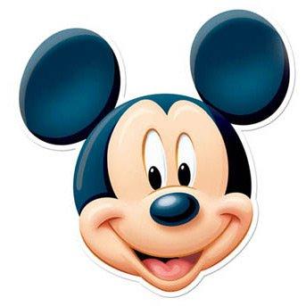 Masque Mickey en Carton