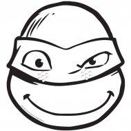 Masque Tortue Ninja Donatello � colorier