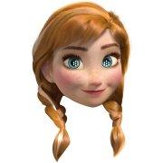 Masque Reine des Neiges Anna
